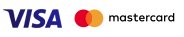 Logo Mastercard i Visa